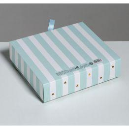 Складная коробка подарочная Сюрприз, 20 х 18 х 5 см