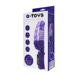 Анально-вагинальный вибратор TOYFA A-toys на присоске A-toys, 22 см