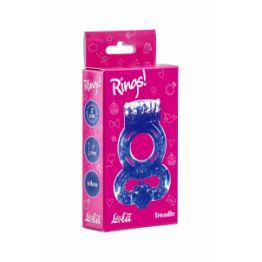 Эрекционное кольцо Rings Treadle purple 0114-61Lola