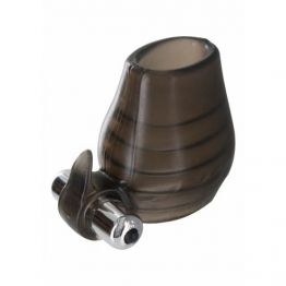 Кольцо на пенис с вибрацией POWER BALL SNUCLER SMOKE 10218TJ