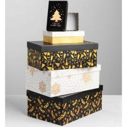 Коробка Золотой узор-9