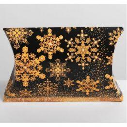 Коробка сборная фигурная Золотой шик, 26 × 19 × 4 см