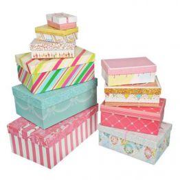 Коробка Торт, прямоугольная 10