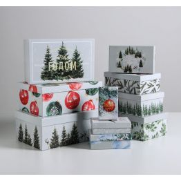 Подарочная коробка Акварельная, 5040788-4