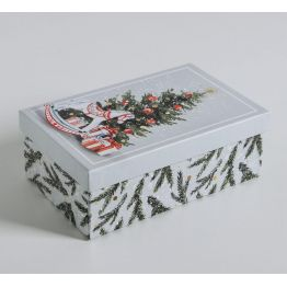 Подарочная коробка Акварельная, 5040788-5
